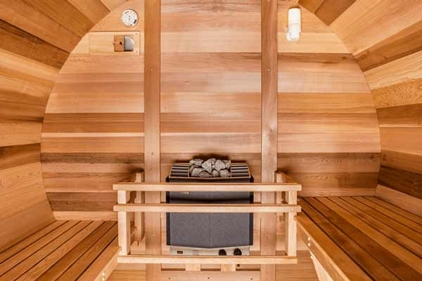 Northern Lights Cedar Wood Outdoor Sauna