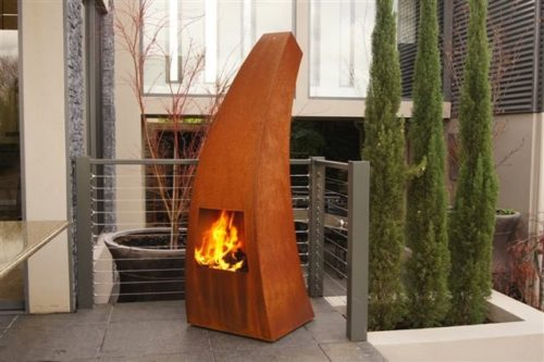 GardenmaxX Maca shown in Corten